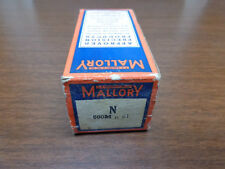 "NOS Mallory N 500 Meg #1 Potentiometer Volume Control 3"" Shaft"