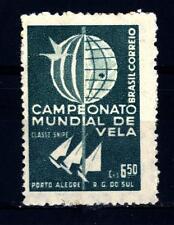 BRAZIL - BRASILE - 1959 - Campionato del Mondo di vela, classe Cecchino, Porto A