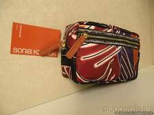 SONIA KASHUK COSMETIC OVERNIGHTER DOUBLE ZIPPER BAG CASE BRAND NEW
