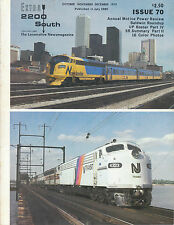EXTRA 2200 SOUTH 70 BALDWIN ROUNDUP, UP ROSTER PART IV, SR SUMMARY, MOTIVE POWER
