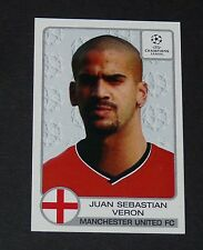 # 180 VERON ARGENTINA MANCHESTER UNITED FOOTBALL CHAMPIONS LEAGUE 2001-2002