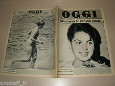 OGGI=1962/22=IRA FURSTENBERG=ALBINO=ORIANA FALLACI=MYLENE DEMONGEOT=STRESA AUTO=