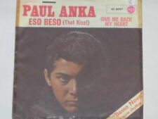 "PAUL ANKA -Eso Beso (That Kiss!)- 7"" 45"