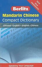 Mandarin Chinese Compact Dictionary : Chinese - English, English - Chinese by...