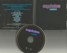 SUGABABES Three USA PRESSING NEVER RELEASED & RECALLED IN USA PROMO DJ CD 2004