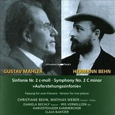 Mahler: Symphony No. 2 New CD