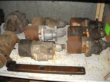 1960's Dodge Chrysler Plymouth Ford parts starters power steering pumps alternat