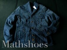 Polo Ralph Lauren Quilted Cardigan $325NWT sportsman patch rrl naval hunting XL