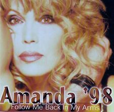 AMANDA LEAR : AMANDA '98 - FOLLOW ME BACK IN MY ARMS / CD (BMG ARIOLA 1998)