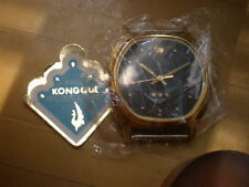 Old Stock Brand New China KONGQUE(Peacock) 17 Jewels Manual Men's Watch,date