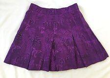 Vintage TAIL Pleated Tennis Skirt PurpleZebras  size 10