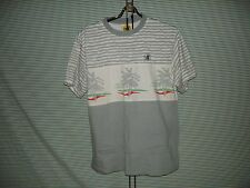 VINTAGE Body Glove Shirt Men's L Surf Skate RETRO Palm Trees Surfer Skater RETRO