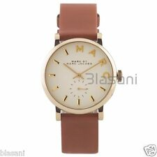 Marc by Marc Jacobs Original MBM1316 Women's Baker Brown Leather White Watch