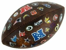 "Vintage Wilson NFL 32 Team 9"" inch Mini Football - Old School Retro Style!"