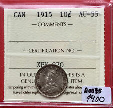1936 Canada Silver 10 Cent Dime Coin A0239 Choice Unc ICCS MS 64 Trends $200