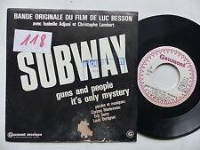 BO Film OST Subway MARIENNEAU BERTIGNAC ( TELEPHONE ) ERIC SERRA  PROMO18185