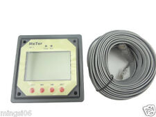 Medidor remo LCD display (MT1) for solar regulator (for duo battery two battery)