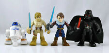 4pcs Star War Anakin Skywalker Darth Vader ACTION FIGURE Child Boy Toy ZX320