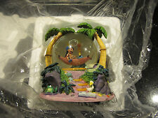 DISNEY SNOW GLOBE LILO AND STITCH HAMMOCK, VERY RARE, SG23
