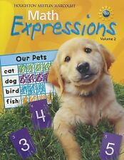 Math Expressions: Student Activity Book (Softcover), Volume 2 Level 2 2009 (Math