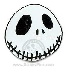 JACK SKELLINGTON Headshot GRINNING HEAD FACE PIN Disney Nightmare BEFORE XMAS