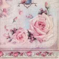 Ricepaper/Decoupage paper,Scrapbooking Sheets Old Rose
