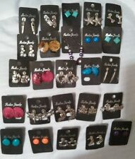 "Wholesale Jewelry Lot STUD Charm/ Bead Earrings 50 Pairs"" FREE SHIPPING!"