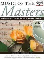 Readers Digest Piano Library: Music of the Masters (Reader's Digest Piano Librar