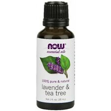 NOW Foods Lavender and Tea Tree Oil - 1 oz. FAST SHIPPING