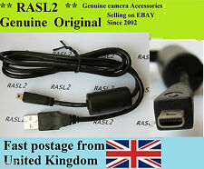 Genuine Pentax Cavo USB Optio A10 A20 A30 A40 M30 K-7 K10D K20D K200 P70 80 x70