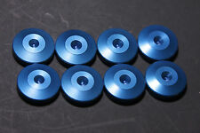 "Audio Spike Cone base stand Isolation Disc Set of 8 - 1""  Diameter Blue"