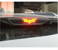 3D Black Batman Carbon Fiber Brake Tail Light Vinyl Sticker Decal Dark Knight