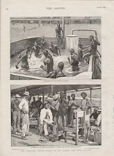 1899 TRANSVAAL CRISIS MINERS BARBERS NATIVES SCENES ON ORANGE FREE STATE BORDER