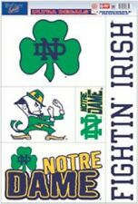 Notre Dame Fighting Irish 11x17 Ultra Decal Sheet [NEW] Car Sticker Emblem Cling