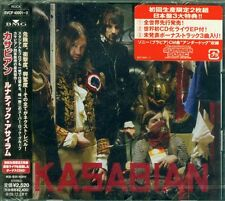 KASABIAN West Ryder Pauper Lunatic Asylum JAPAN 2CD OBI Limit BVCP-40001~2 Seal