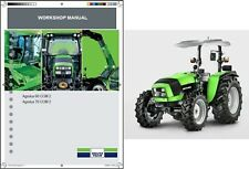 Deutz Fahr Agrolux 60 - 70 Tractor Service Repair Workshop Manual CD