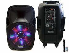 Absolute PRO Series USBAT3000 DJ/KARAOKE/PA SPEAKER System 3000 watts Bluetooth