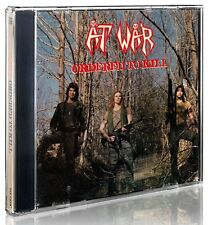 AT WAR- Ordered To Kill LIM. CD us thrash/speed classic OFFICIAL RE-ISSUE
