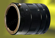 Macro Extension Tube Ring Set for MICRO 4/3 m m4/3 Four Thirds mount Olympus