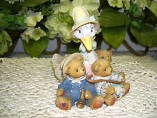CHERISHED TEDDIES FIGURINE FRIENDS OF A FEATHER FLOCK TOGETHER ENESCO 1997