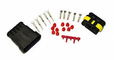Superseal AMP/Tyco Waterproof Terminal Electrical Connectors 5 Way 1.5-2.5 Kit