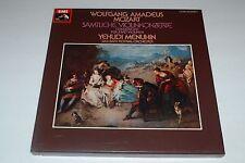 Wolfgang Amadeus Mozart~Sämtliche Violinkonzerte~Yehudi Menuhin~4 LP~FAST SHIP