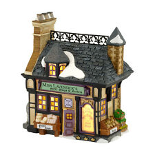 Dept 56 Miss Lavenders Soaps & Sachets Dickens Village Lit House NEW 4030358