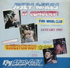 KING STUR GAV JOSEY WALES NEGRIL 1983 LIVE CD