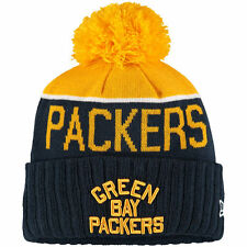 Green Bay Packers New Era Knit NFL On Field Sideline Beanie Cap Hat Authentic