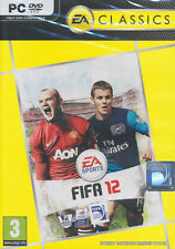 FIFA 12 (Soccer) 2012 EA Sports PC Game For Windows XP, Vista 7 - NEW DVD