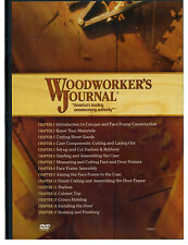 Woodworker's Journal DVD Essential Woodworking Techniques