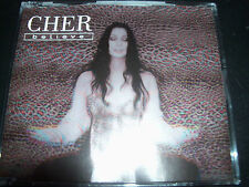 Cher Believe The Remixes Australian 5 Track CD Single - Like New