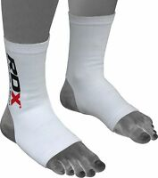 Auth RDX Ankle Foot Support Anklet Pads MMA Brace Guard Gym Sport Sock Protector