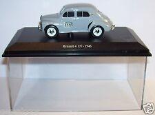 NOREV RENAULT 4CV 4 CV 1946 POSTES POSTE PTT BOX  1/43 plexiglass box occasion